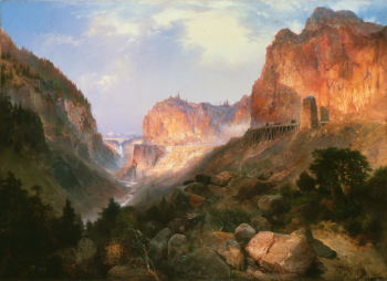 Thomas_Moran_-_Golden_Gate _Yellowstone_National_Park