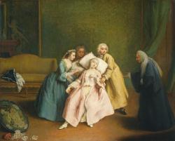 Pietro_Longhi fainting