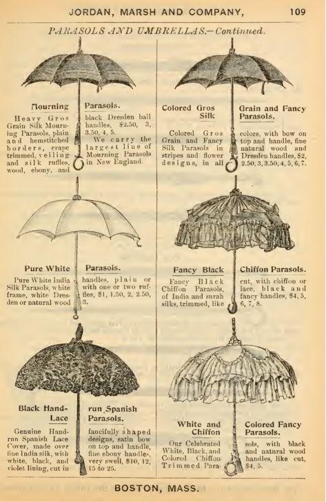 Paeasols and umbrellas
