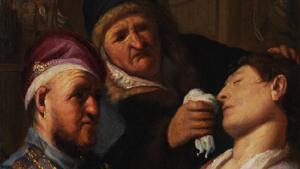 Smelling-salts-rembrandt