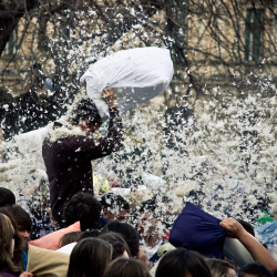 Pillow Fight by Csutkaa is licensed under CC BYNCSA 2.0