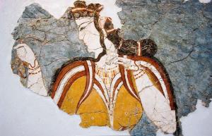 Mycenaen figure