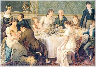 Regency family small party