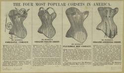 Corsets 1886