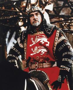 Sean Connery as King Richard