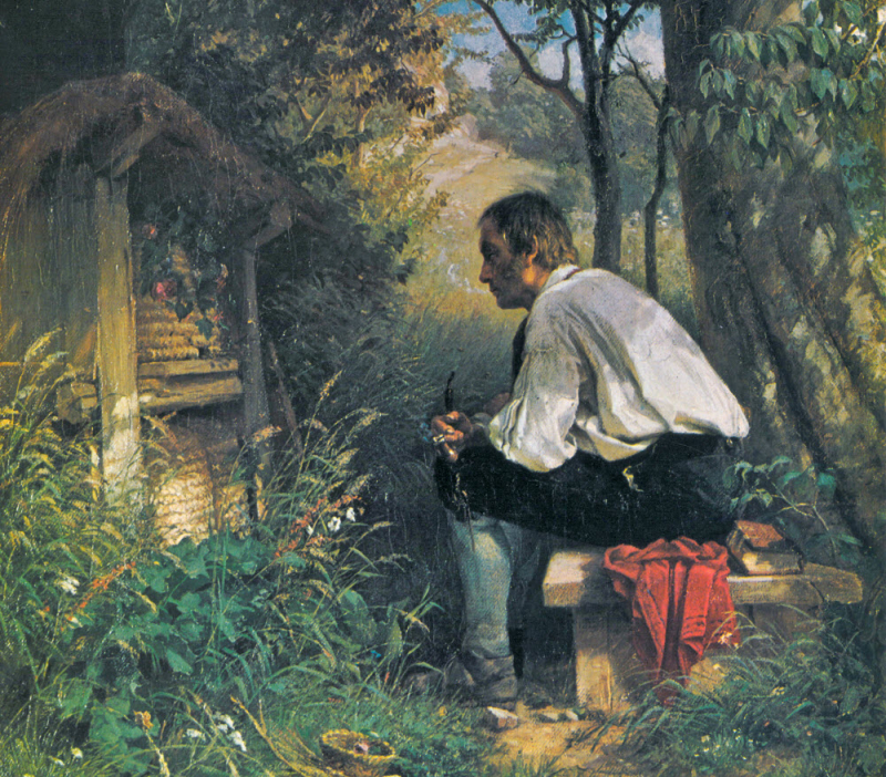Telling-the-bees-hans-thoma