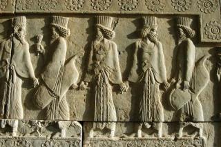 Persian relief sculpture