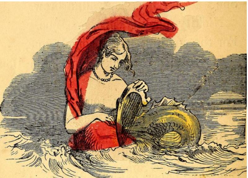 Plucks harp c 1800