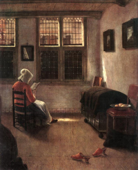 Pieter_Janssens_Elinga_-_Reading_Woman_-_WGA7482