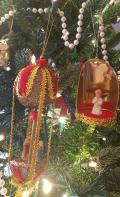 Handmade family ornaments