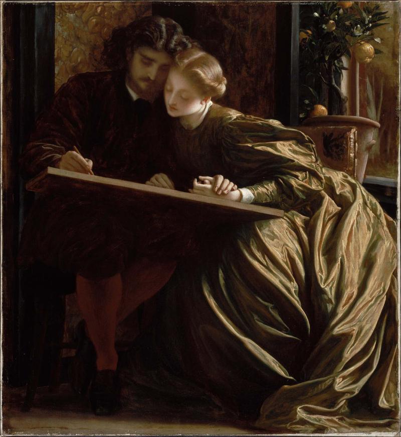 Leighton_The_Painter-s_Honeymoon_1864