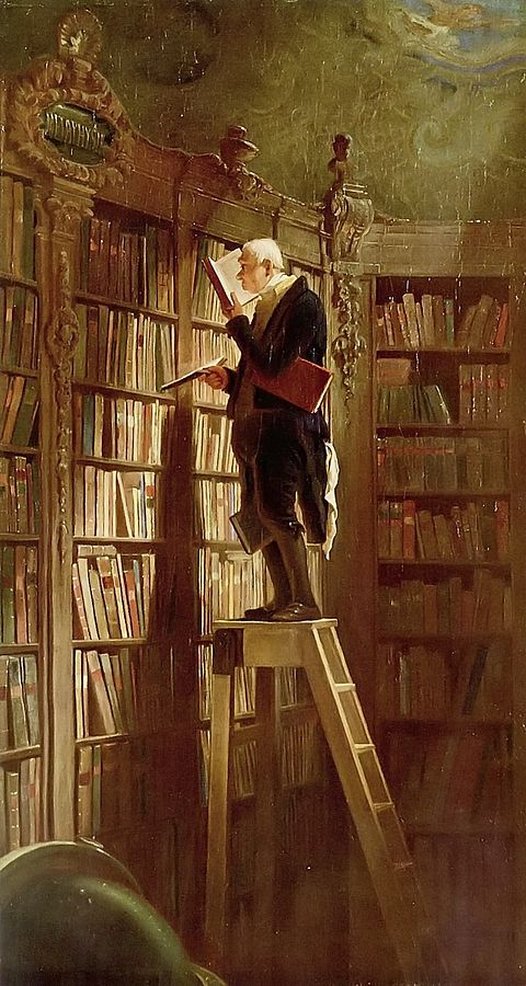 480px-Carl_Spitzweg_Bookworm 1850