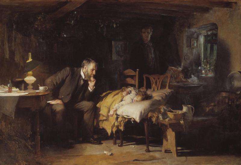 Luke fildes the doctor 1890